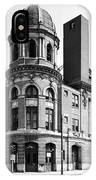 Shibe Park In Black And White IPhone Case