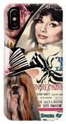 Shih Tzu Art - My Fair Lady Movie Poster IPhone Case