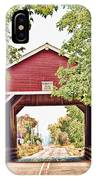 Shimanek Covered Bridge IPhone Case