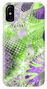 Shimmering Joy Abstract Digital Art IPhone Case