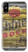 Shiner Bock IPhone Case