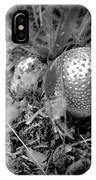 Shiny Mushroom IPhone Case