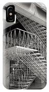 Shiodome Tokyo Stairs IPhone Case