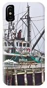 Ship Docked In Lunenburg-ns IPhone Case