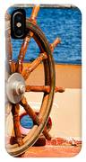 Ship Wheel IPhone Case