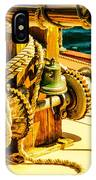 Ships Bell Sailboat IPhone Case