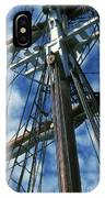 Ships Rigging IPhone Case