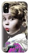 Shirley Temple Publicity Photo  Circa 1935-2014 IPhone Case