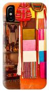 Shopping In San Miguel De Allende IPhone Case