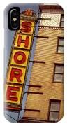 Shore Building Sign - Coney Island IPhone Case