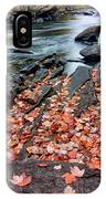 Shoreside Leaves IPhone Case