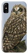 Short Eared Owl IPhone Case