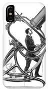 Short-focus Telescope, 1881 IPhone Case