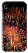 Shower Of Fireworks IPhone Case