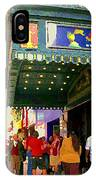 Showtime Toronto's Broadway Monty Python Spamalot Theatre District The Plays The Thing City Scenes IPhone Case