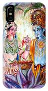 Shree Sita Ram IPhone Case