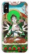 Shri Ashtabhuja Mata IPhone Case