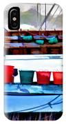 Shrimp Boat Buckets IPhone Case