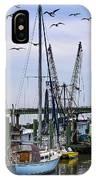 Shrimp Boats At Lazaretto Creek IPhone Case