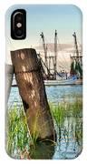 Shrimp Dock Pilings IPhone Case