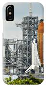 Shuttle Endeavour Is Prepared For Launch IPhone Case