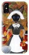 Siamese Queen Of Thanksgiving IPhone Case