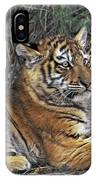 Siberian Tiger Cubs Endangered Species Wildlife Rescue IPhone Case