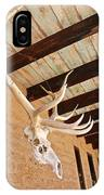 Side Skull  IPhone Case