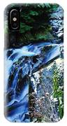 Side View Of Bumping Creek Falls IPhone Case
