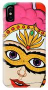 Carnival Mask Palm Springs IPhone Case