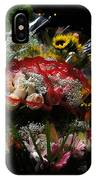 Sidewalk Flower Shop IPhone Case