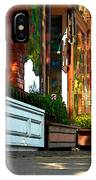 Sidewalk In Saint Helena IPhone Case