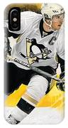 Sidney Crosby Artwork IPhone Case