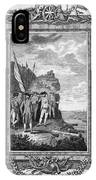 Siege Of Gibraltar, 1782 IPhone X Case
