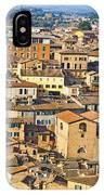 Siena Rooftops IPhone Case