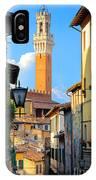 Siena Streets IPhone Case