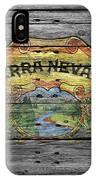 Sierra Nevada IPhone Case