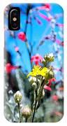 Sierra Wild Flowers II IPhone Case