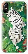 Siesta Del Tigre - Limited Edition 2 Of 15 IPhone Case