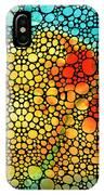 Siesta Sunrise - Stone Rock'd Art Painting IPhone Case