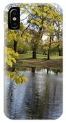 Sigulda Pond IPhone Case