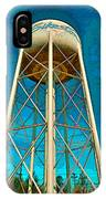 Sikeston Water Tower Iv IPhone Case