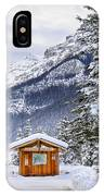 Silent Winter IPhone Case