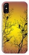 Silhouette Birds IPhone Case