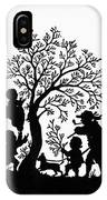 Silhouette Family Life IPhone Case