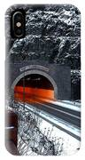 Silver Creek Tunnel IPhone Case