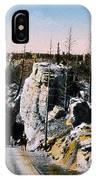 Silver Gate Road Yellowstone Np IPhone Case