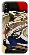 Silver Grayhound IPhone Case