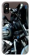 Silver Harley Motorcycle IPhone Case