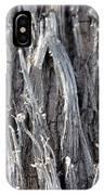 Silver Heavy Metal  IPhone Case